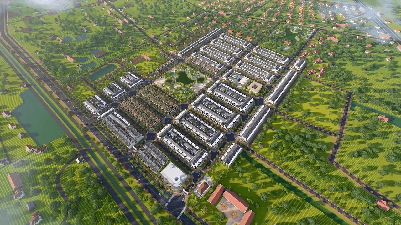 Phối cảnh dự án Mạnh Hùng Green City