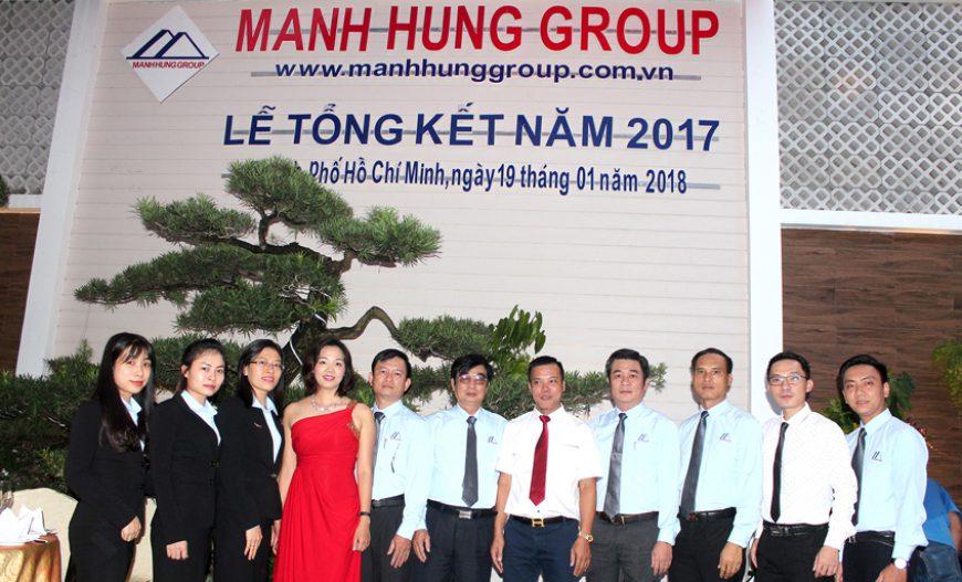 Manh Hung Group tổng kết năm 2017
