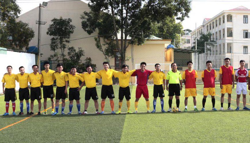 Đội bóng Văn phòng Công chứng Tân Bình, tham gia giải mini phường 13
