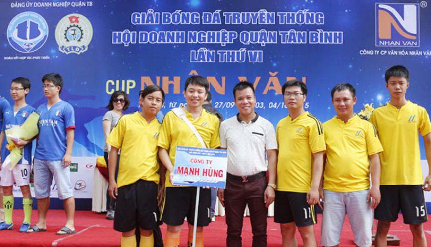 Đội bóng tham gia Cup Nhân Văn lần VI, năm 2015