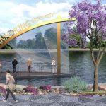 Mạnh Hùng Green City phong thủy đẹp thu hút nhà đầu tư