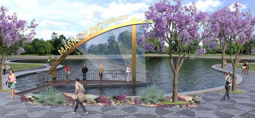 Manh Hung Green City phong thủy đẹp thu hút nhà đầu tư