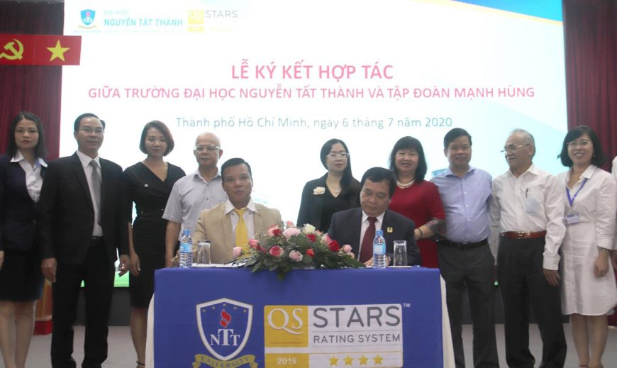 Mạnh Hùng Group hợp tác thỏa thuận công tác nguồn nhân lực với Đại học Nguyễn Tất Thành.