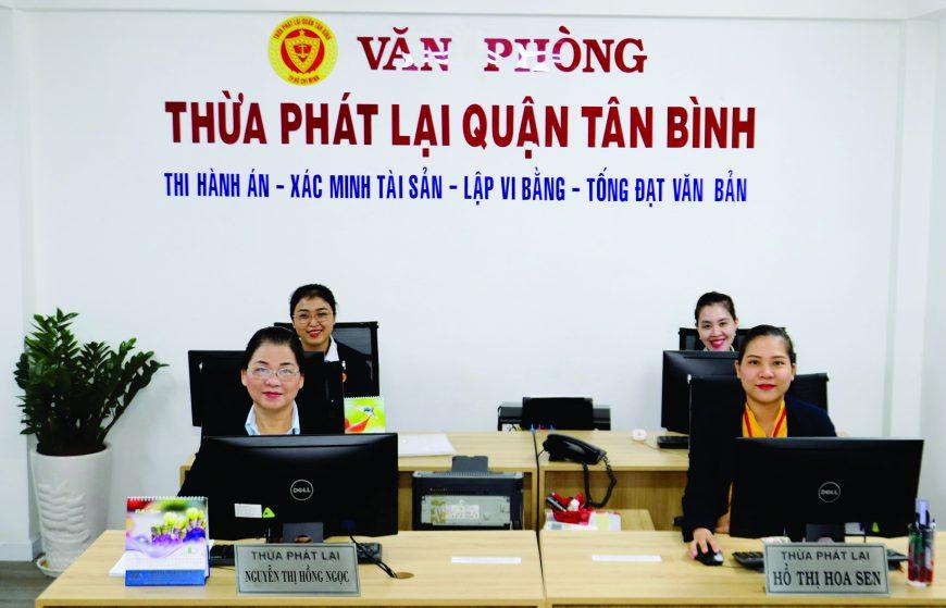 Văn phòng Thừa phát lại Quận Tân Bình hoạt động tại trụ sở mới: 526A Cộng Hòa, P.13, Q.Tân Bình, TP.HCM