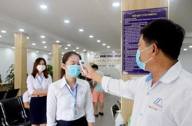 Manh Hung Group áp dụng các biện pháp phòng chống Covid-19
