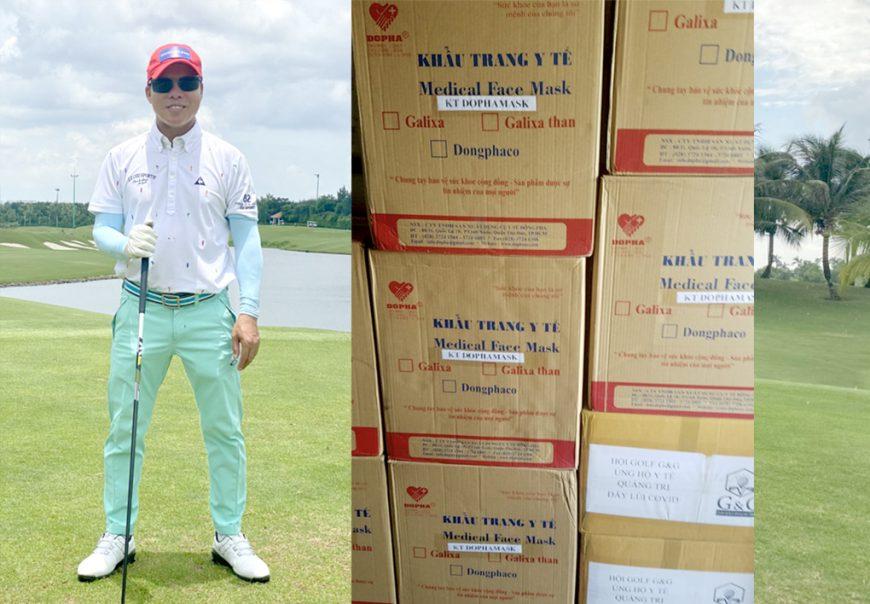 Luật sư Đoàn Tiến Hưng – Chủ tịch HĐQT – TGĐ Manh Hung Group tham gia Giải Golf từ thiện chung tay đẩy lùi Covid-19