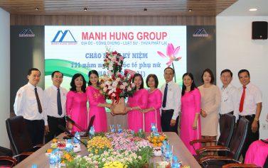 Manh Hung Group chào mừng ngày Quốc tế Phụ nữ 8/3