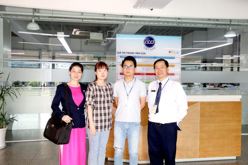 Thừa phát lại Việt Nam lập vi bằng tại Công ty Pouyuen Việt Nam